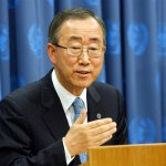 United Nation's Secretary General Ban Ki Moon
