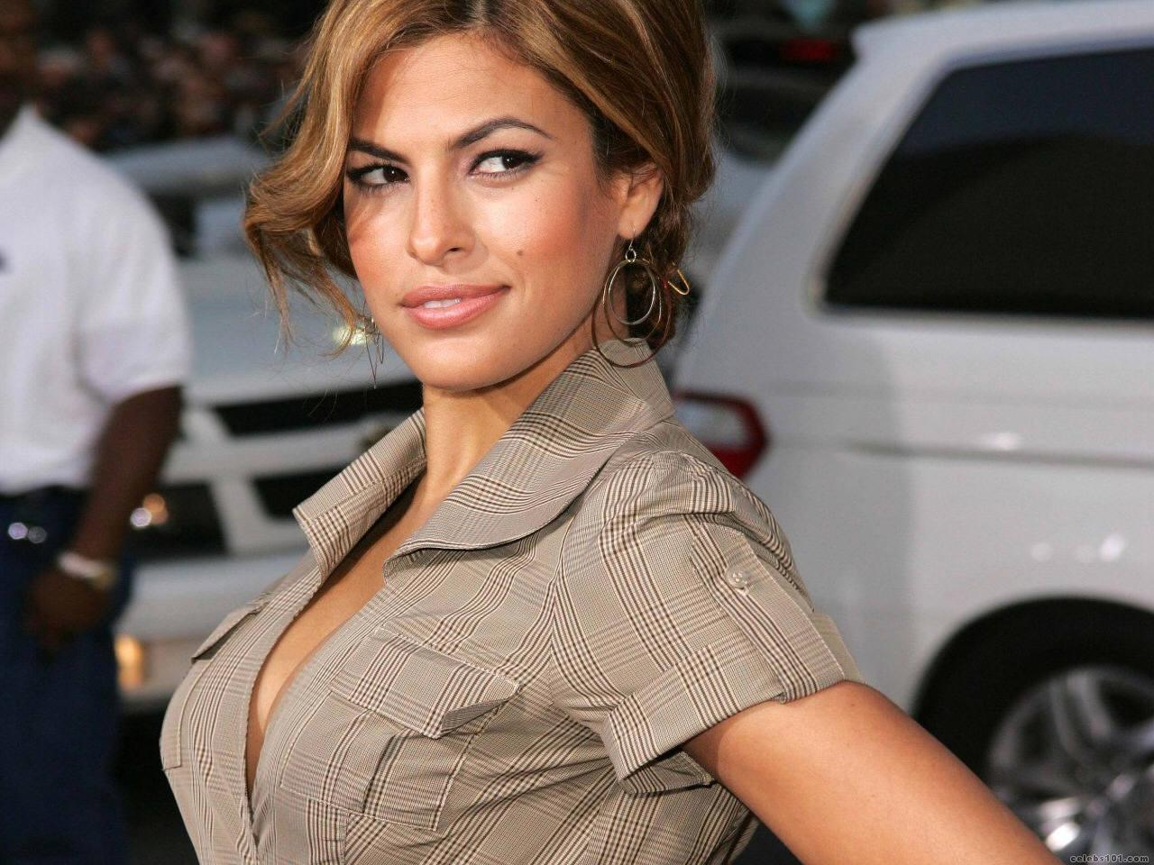 Eva mendes training day close up nude compilation