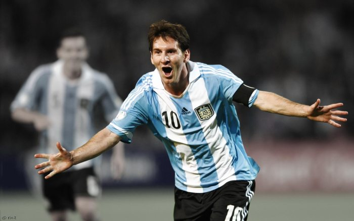 Lionel Messi, Argentina, Nigeria, World Cup
