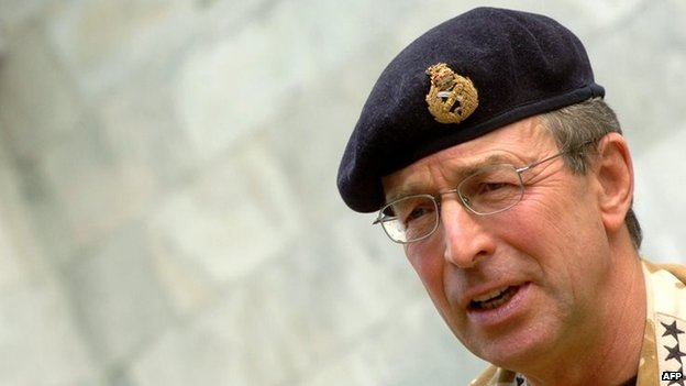Lord Richards was also once Nato commander in Afghanistan