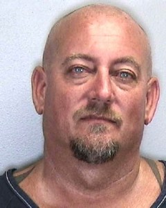 Michael Doster in a mugshot