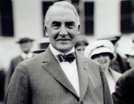 President Warren G. Harding