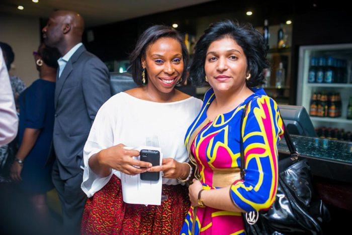 Ugoma Adegoke and friend  (Photo provided by Red Media)