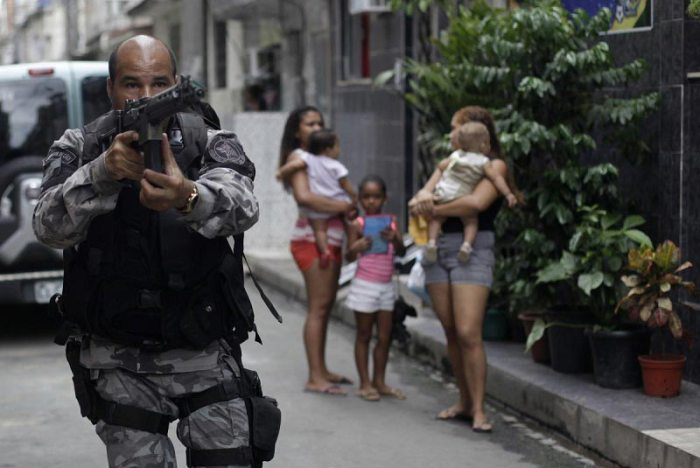 Though troops were sent to Rio de Janeiro to shake up nearby drug dealers and criminals, the streets are still largely unsafe. Source: Business Insider