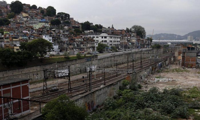 Rio de Janeiro's impoverished slums are a steep contrast to the excess of the World Cup. Source: Business Insider