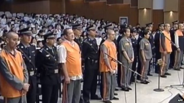 A court convicted the Tiananmen attack suspects in June [photo credit: BBC]
