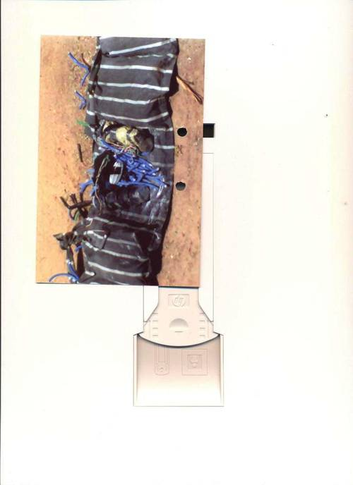 IEDs - Suicide Bomb belts recovered from teenage girls in Katsina (Photo Credit: Nigeria Police Force)
