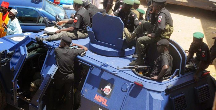 Maina Police highway Anambra