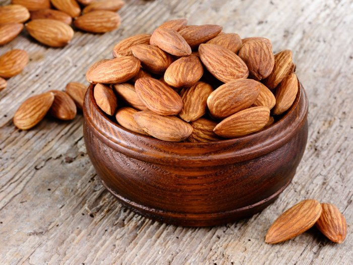almonds foods