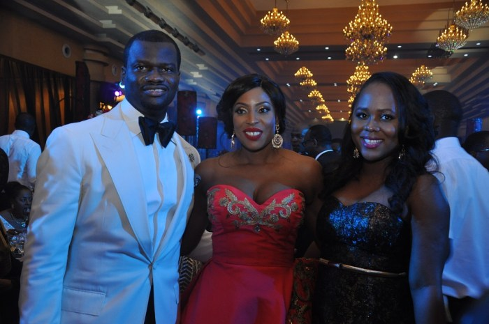 Bode Pedro, Mo Abudu and Uche Pedro