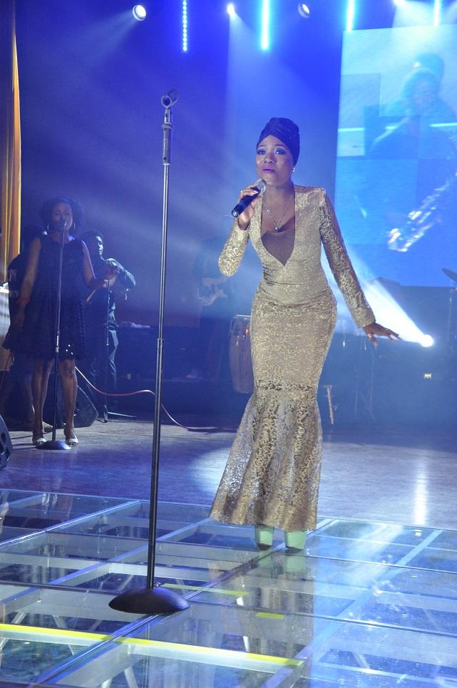 Efya of Ghana performing