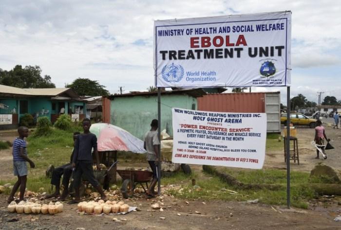 Ebola Treatment Centre(Photo Credit: International Business Times)