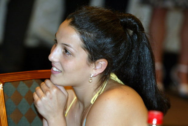 Megan Mahoney of St. Peter's Girls High School watches other athletes at the 2007 Staten Island Advance All-Star Dinner on June 21, 2007. (Photo Credit: Staten Island Advance/Jin Lee)