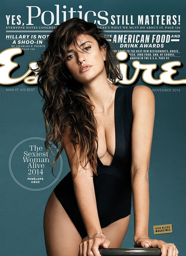 Penelope Cruz covers October edition of Esquire Magazine (Photo credit; Mirror UK)