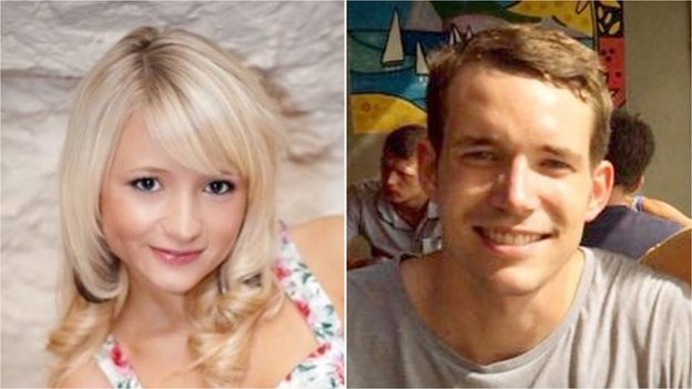 Hannah Witheridge and David Miller were found on the beach close to bungalows where they had been staying [Photo Credit: BBC]
