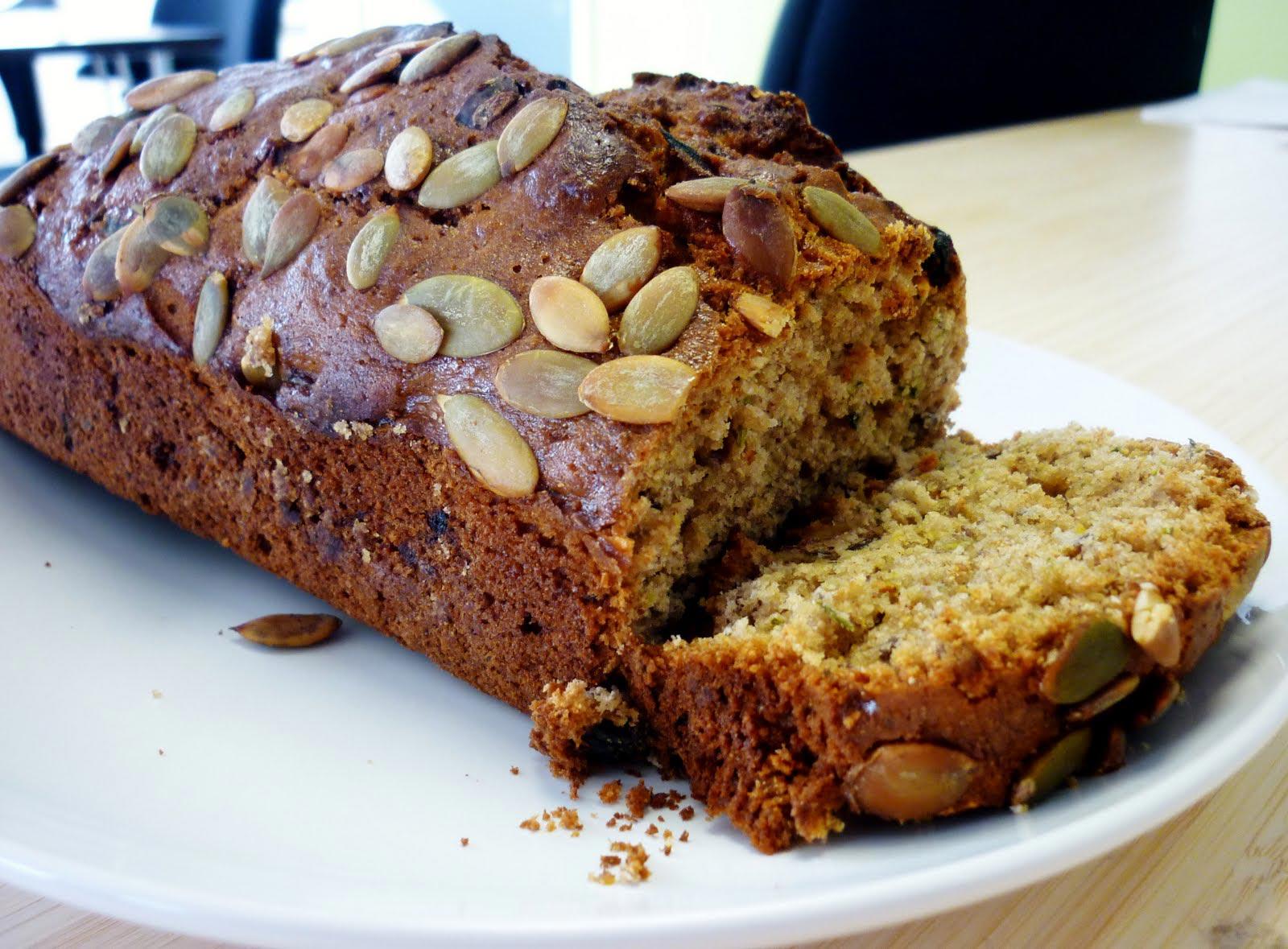 Healthy-Zucchinini-Bread-With-Farina-di-Castagne