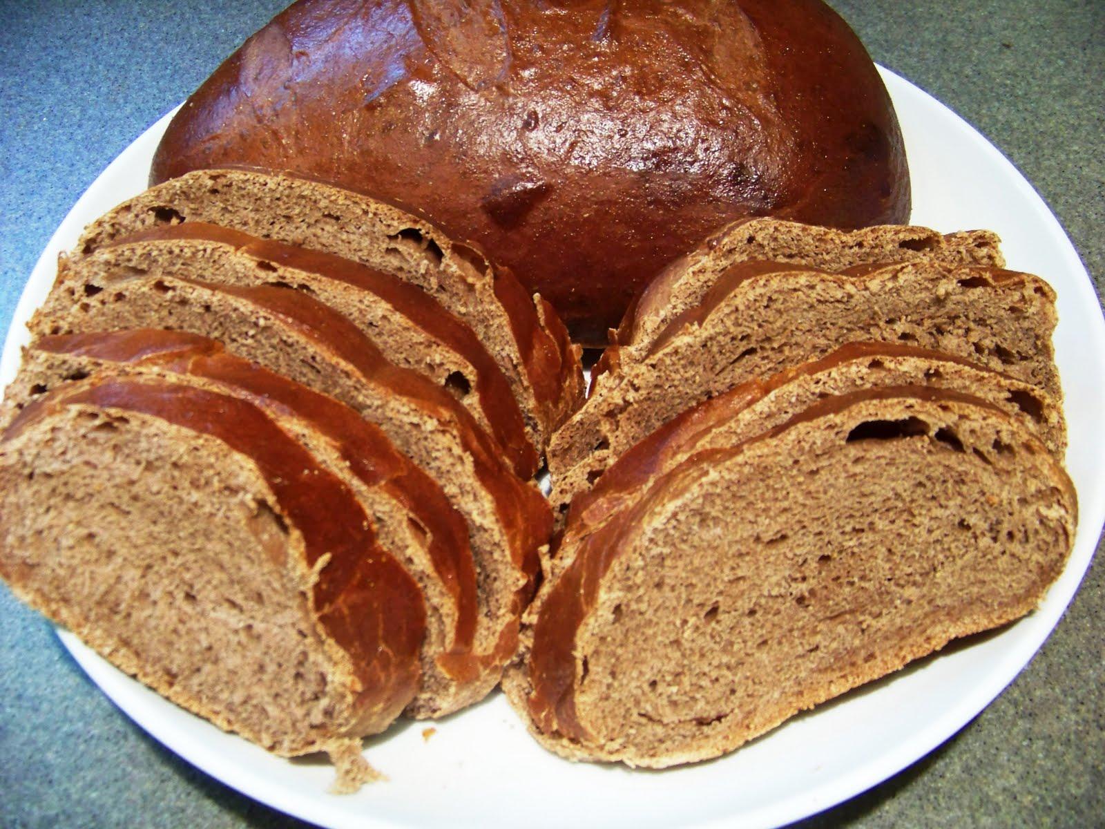 Honey Wheat Black Bread 010