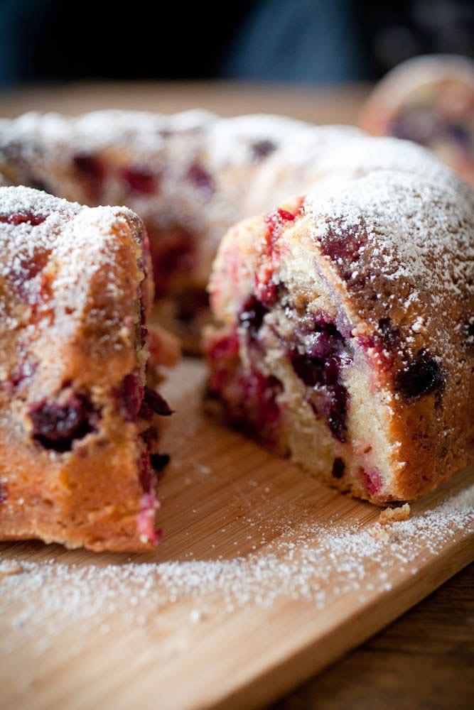 Blueberry Streusel Bundt Cake