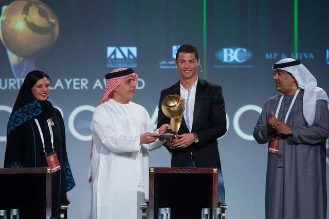 Ronaldo At Awards
