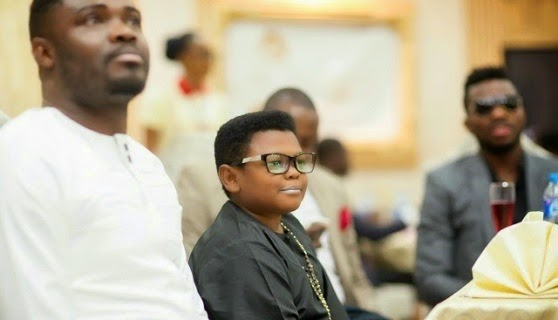 Nollywood actor Osita Iheme at Omotala Jalade 20th anniversary in Nollywood on Saturday, January 24, 2015 in Abuja (Photo Credit: The Net)