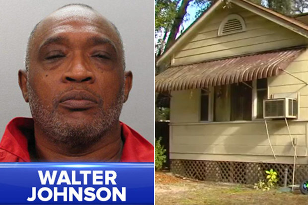 60-year-old Walter Johnson allegedly impregnated a 12-year-old girl after he had multiple sexual encounters with her in Florida. (Photo Credit: WJAX-TV)