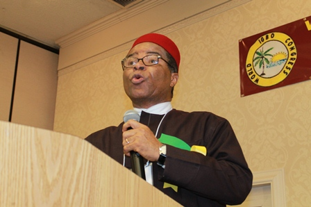 Mike Ahamba (SAN) - (Photo Credit: Wic Foundation)