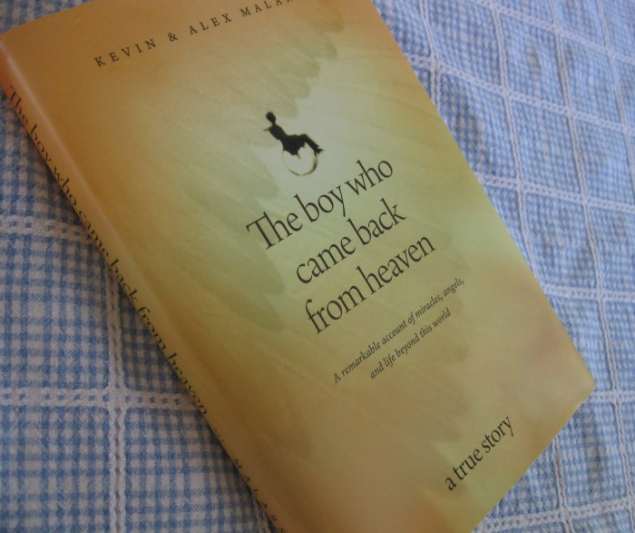 The Boy who Came Back from Heaven The Trent