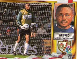 Wilfred Agbonavbare during his days at Rayo Vallecano in Spain (Photo credit: All Africa News)