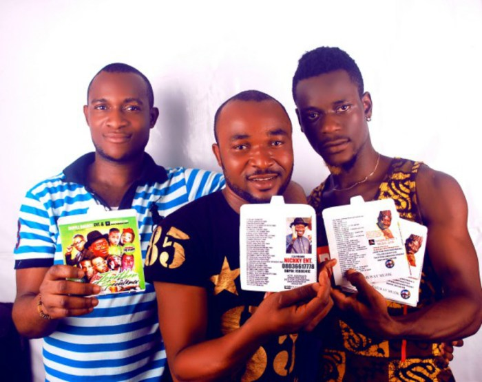 Members of the Alaba music promoters association in Lagos (Photo Credit: Nigerian Current)