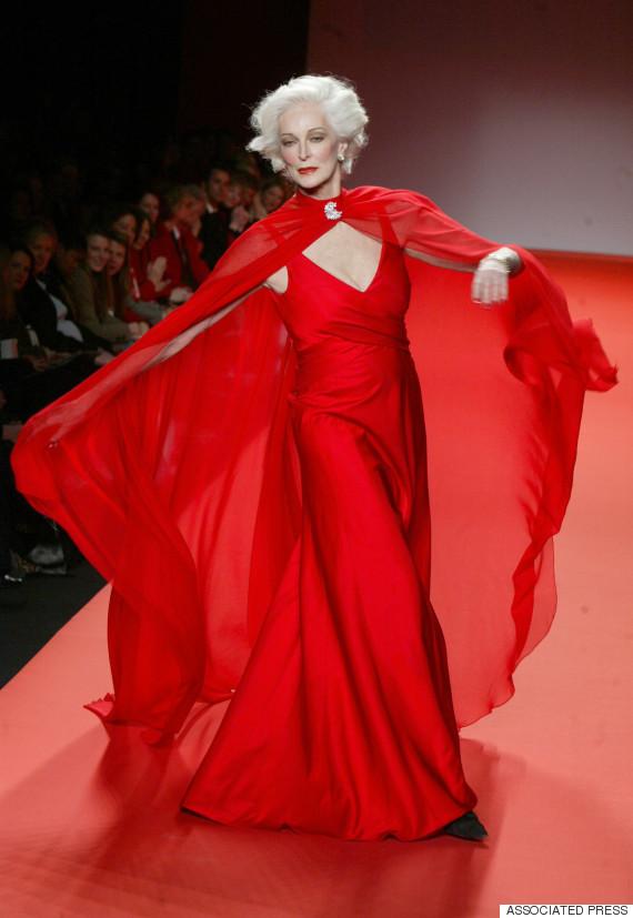 Carmen Dell'Orefice (Photo Credit: Huffington Post)