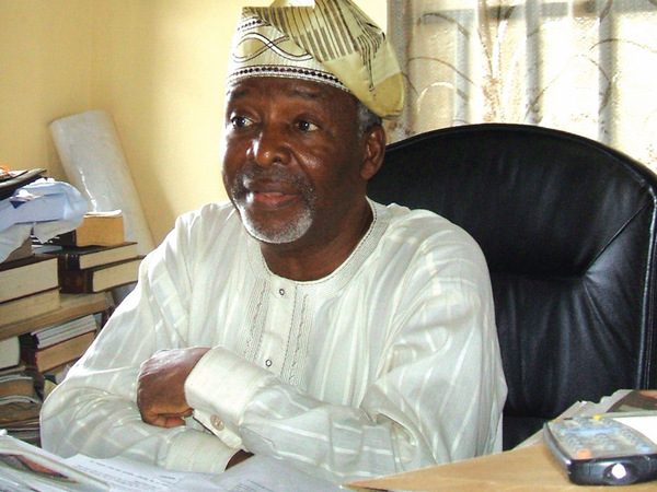 Founder of the Oodua Peoples Congress, Frederick Fasehun (Photo Credit: News Pot NG)