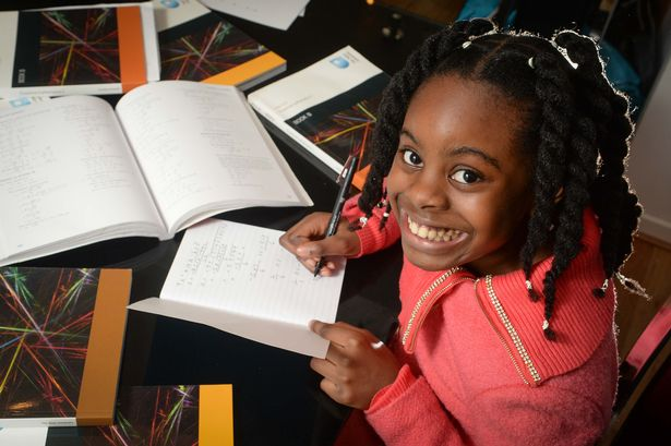 Esther Okade- youngest UK mathematics undergraduate at the age of 10 (Photo Credit: Mail Online)