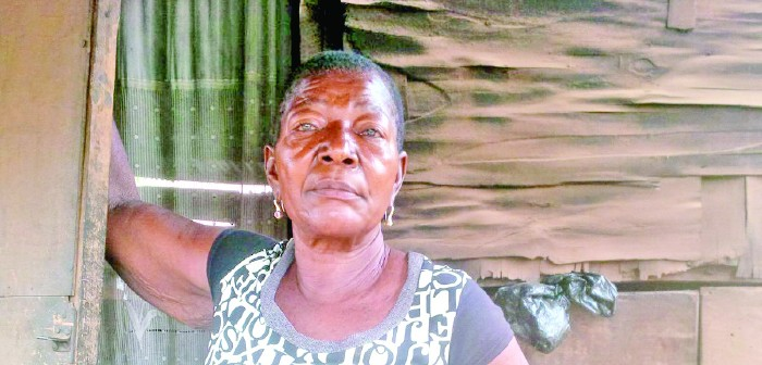 An Anambra-based food vendor identified as Ngozi Aloefuna, has been remanded in custody after the skeleton of her brother who died two years ago was seen in her apartment in Amikwo Village, Awka South Local Government Area of the state. (Photo Credit: Daily Sun)
