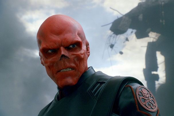 TheRed Bull of a Comic book which a Venezuelan man known as Red Skull wanted to look like by having his nose cut off. (Photo Credit: AP Photo/Ariana Cubillos)
