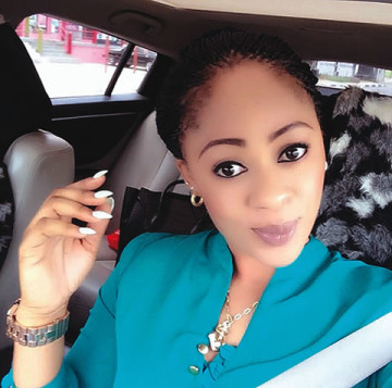 Silverbird staff, Aishat Noble-Mustapha who was allegedly killed by her lover on Saturday, March 14, 2015 at her residence in Ogudu, Lagos state. (Photo Credit: Punch)