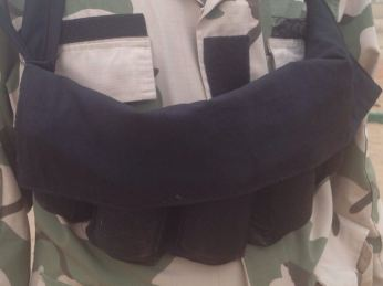 Another suicide bomb vest duly primed by the terrorists (DHQ Photo)