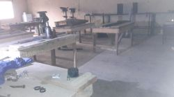 Inside terrorists IEDs factory (DHQ Photo)