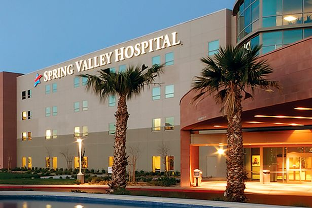 Spring Valley hospital who sent the bodies of stillborn twins inside linen to a laundry facility in Las Vegas. (Photo Credit: Mirror UK)