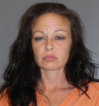 Michelle Sanford,36, was arrested asked police officials if she could bring her marijuana along after they offered her a ride in Florida. (Photo Credit: newsdaytonabeach.com)