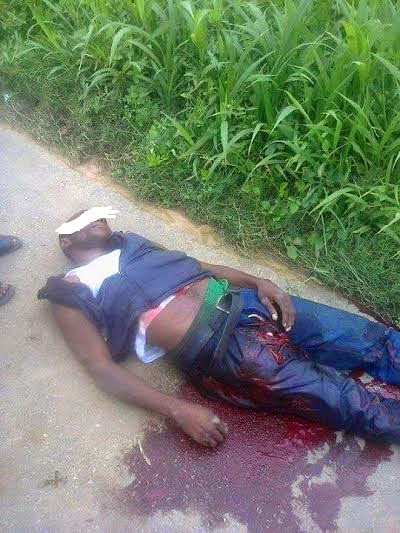 Voter who was murdered by political thugs in akwa-ibom state (Photo credit: TheInfoNg)