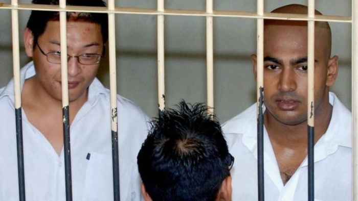 Australians,  Andrew Chan (Left) and Myuran Sukumaran (Right) were executed by firing squad on Wednesday, April 29, 2015