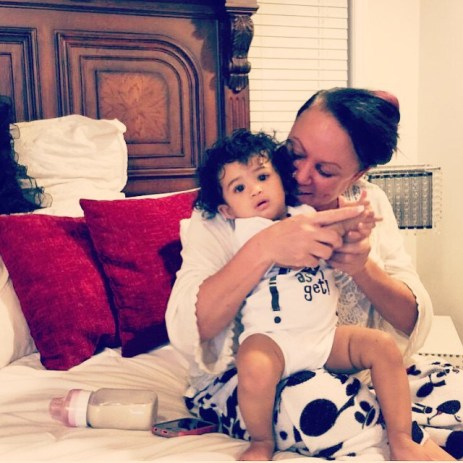 Chris Brown's Mother and Daughter,Royalty (Photo Credit: Chris Brown/Instagram)
