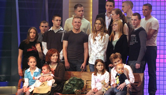 After having 13 children, 65-year-old Annegret Raunigk from Berlin, Germany has given birth to quadruplets on Tuesday, May 19, 2015. (Photo Credit: Remolacha.net)