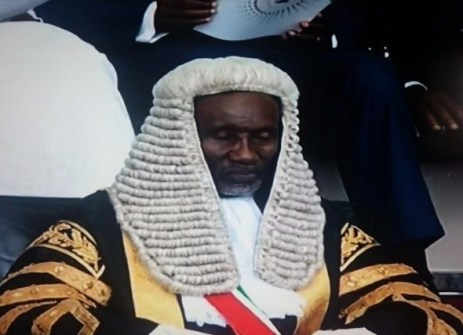 The Chief Justice of Nigeria Mahmud Mohammed (Photo Credit: The Cable)
