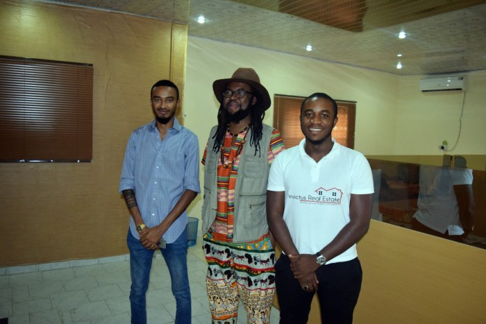 Onyeka Nwelue and Obinwanne Okeke (Photo Credit: Onyeka Nwelue)