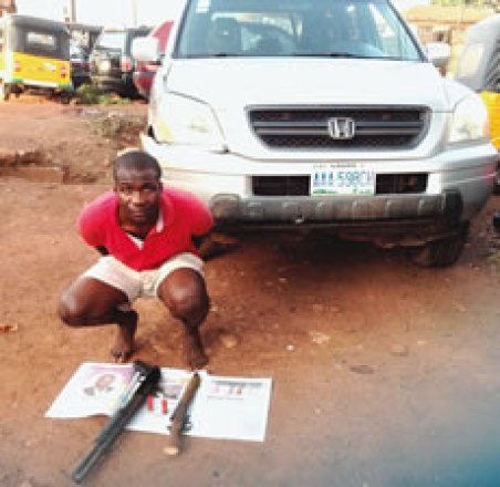 University Graduate Nabbed For Armed Robbery