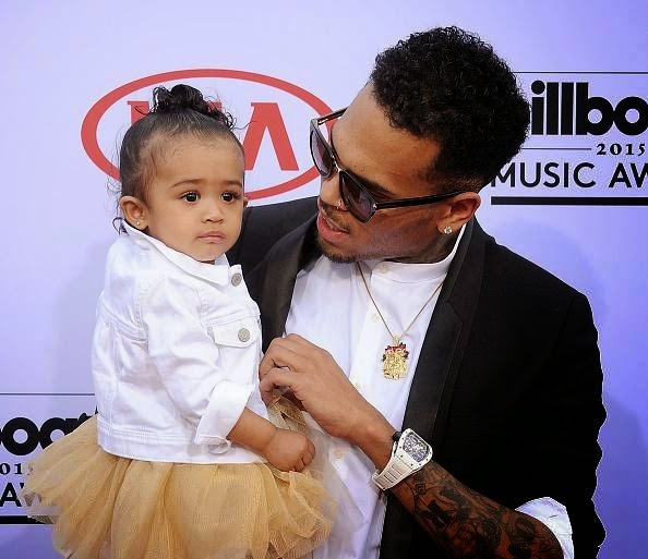 Chris Brown and Baby Royalty