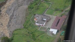 Overall view of the area. (Credit: Colombian Police)