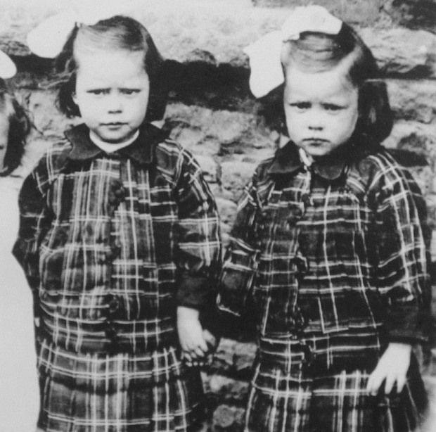 Oldest twin sisters, Glenys Thomas and Florence Davies have died weeks apart apart from each other on Thursday, April 23, 2015 and Wednesday, May 20, 2015 respectively  in Cerphilly, South Wales. (Photo Credit: Wales Online)