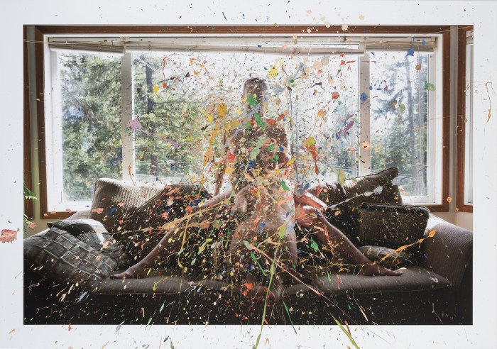 Splatter Paint, 2013, © Sarah Anne Johnson / Courtesy of Julie Saul Gallery, New York and Stephen Bulger Gallery, Toronto h/t Feature Shoot